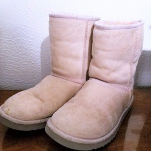 Pink Short Classic UGGs Size 7
